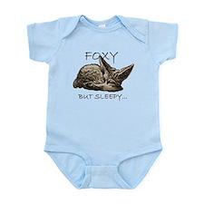 FOXY BUT SLEEPY... Infant Bodysuit