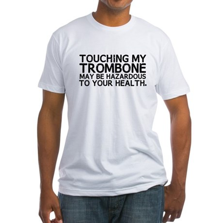 Trombone Hazard Fitted T-Shirt