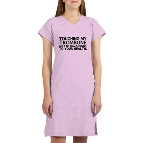 Trombone Hazard Women's Nightshirt