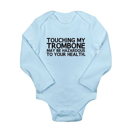 Trombone Hazard Long Sleeve Infant Bodysuit