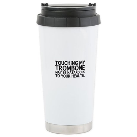 Trombone Hazard Ceramic Travel Mug