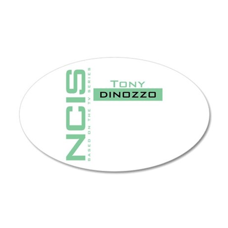 NCIS Tony DiNozzo 35x21 Oval Wall Decal