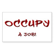 Occupy...a job! Decal