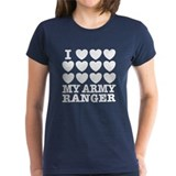 I Love My Army Ranger Tee