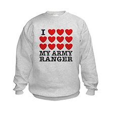 I Love My Army Ranger Sweatshirt