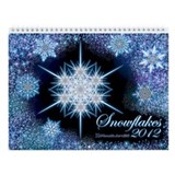 2013 Snowflakes Wall Calendar