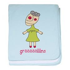Graaaaaiins baby blanket