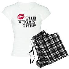 Kiss the Vegan Chef Pajamas