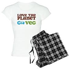 Love the Planet Go Veg Pajamas