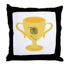 French Horn Award Throw Pillow