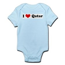 I Love Qatar Infant Creeper