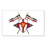 Medieval Shield Graphic Sticker (10 Pk)