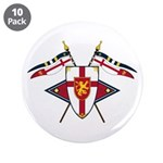 "Medieval Shield Graphic 3.5"" Button (10 Pk)"