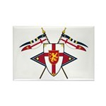 Medieval Shield Graphic Magnet (100 Pk)