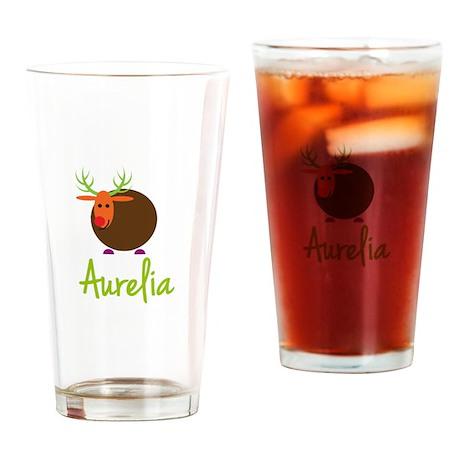 Aurelia the Reindeer Drinking Glass