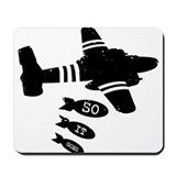 """Slaughterhouse-Five"" Mousepad"