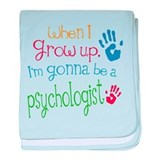 Kids Future Psychologist baby blanket