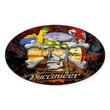 Buccaneer Parrot Pirates Decal