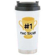Piano Teacher Award Ceramic Travel Mug
