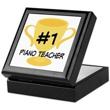 Piano Teacher Award Keepsake Box