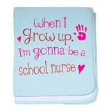 Kids Future School Nurse baby blanket
