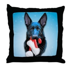 Vader Mischief Christmas Throw Pillow