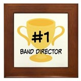 Band Director Award Gift Framed Tile