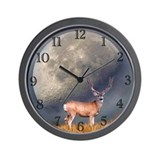 Velvet buck moon Wall Clock