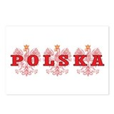 Polska Red Eagles Postcards (Package of 8)