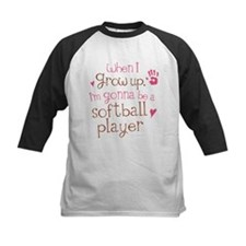 Kids Future Softball Player Tee