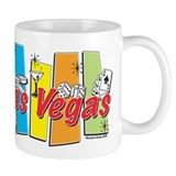 Las Vegas Retro Small Mug