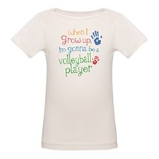 Kids Future Volleyball Player Tee