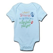 Kids Future Volleyball Player Infant Bodysuit