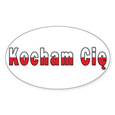 Kocham Cie - I Love You Decal