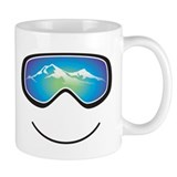 Happy Skier/Boarder Small Mug