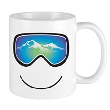 Happy Skier/Boarder Small Mugs