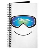 Happy Skier/Boarder Journal