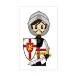 Cute Medieval Knight Sticker