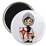 "Cute Medieval Knight 2.25"" Magnet (100 Pk)"