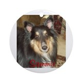Sammie Ornament (Round)