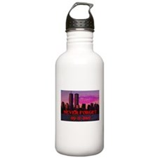 NEVER FORGET 09-11-2001 Water Bottle