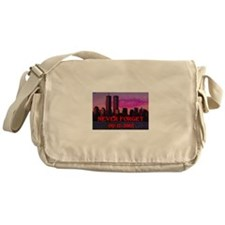 NEVER FORGET 09-11-2001 Messenger Bag