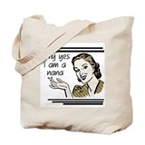 Retro Nana Tote Bag