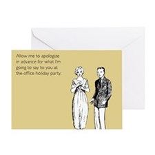 Office Holiday Party Greeting Card