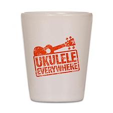 Ukulele Everywhere Shot Glass