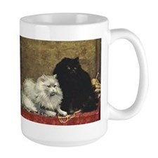 Black and White Persians Mug