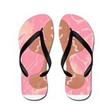 Gingerbread Man Art Flip Flops