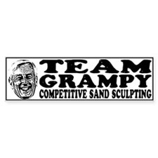 Team Grampy Bumper Sticker