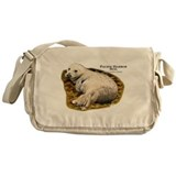 Pacific Harbor Seal Messenger Bag