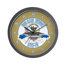 CVN-70 USS Carl Vinson Wall Clock